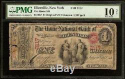 Original Series 1 $ Home Banque Nationale Note Nous Monnaie Old Billets Pmg