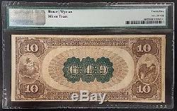 Série 1882 10,00 $ De La Monnaie Nationale, The Miners National Bank Of Pottsville, Pennsylvanie