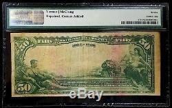 Série 1902 Monnaie Nationale De 50 $ De La Banque Nationale D'iowa D'ottumwa, Ia