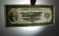 Série 1918 Monnaie Nationale $1 Dollar Federal Reserve Bank St Louis H-8 P0229