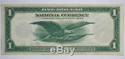Série De 1918 $ 1 Monnaie De La Réserve Fédérale De La Banque De New York Nationale Note 91wm