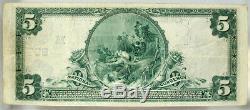 Vf 1902 5 $ Banque Nationale Du Nord De L'ohio Toledo Ch # 809 Monnaie Nationale (21)